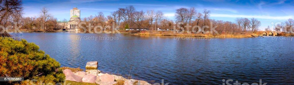 Jackson Park Springtime stock photo