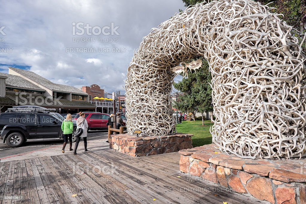 Jackson, Wyoming stock photo