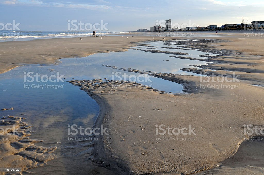 Jacksonville Beach stock photo