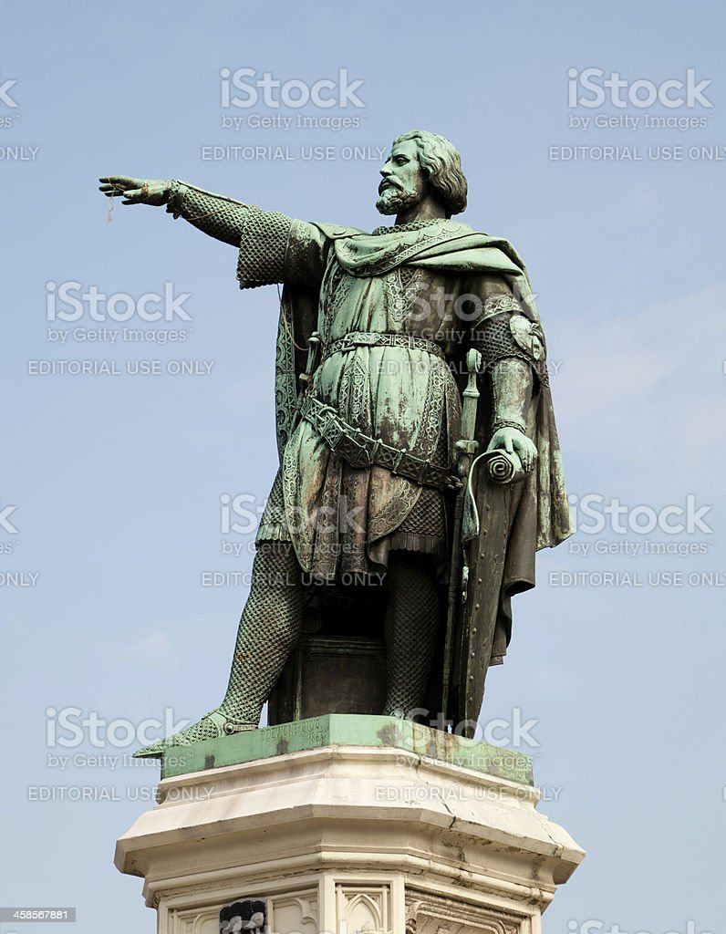 Jacob van Artevelde the Wise Man of Ghent royalty-free stock photo