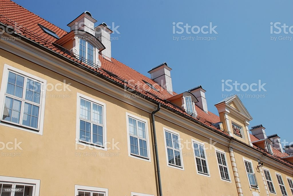 Jacob's Barracks, Riga royalty-free stock photo