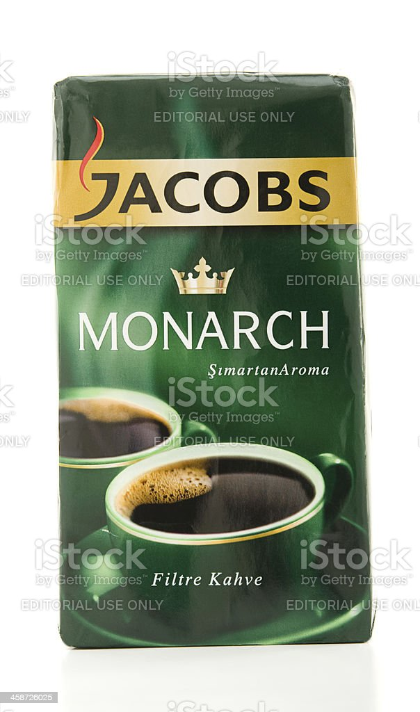 Jacobs Coffee royalty-free stock photo