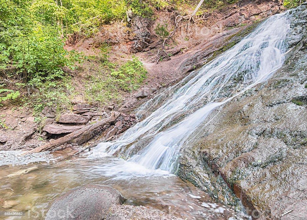Jacobs Creek Falls, MI stock photo