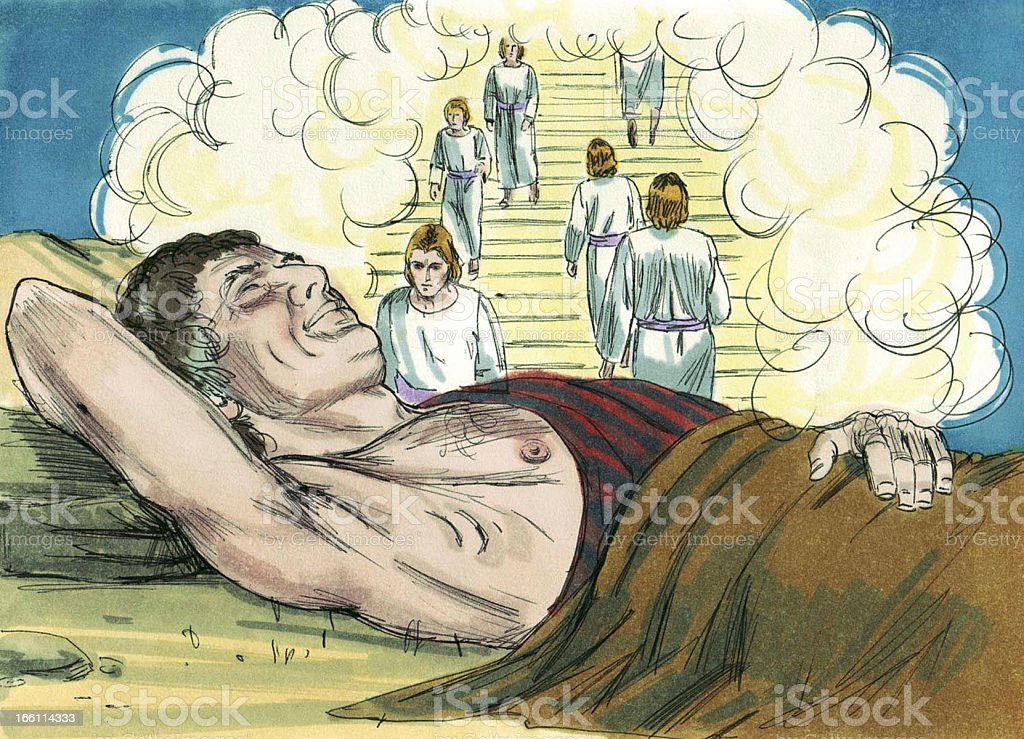 Jacob's Ladder Vision royalty-free stock photo