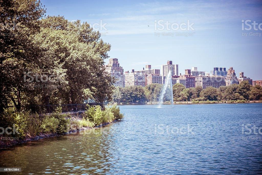 Jacqueline Kennedy Onassis Reservoir stock photo