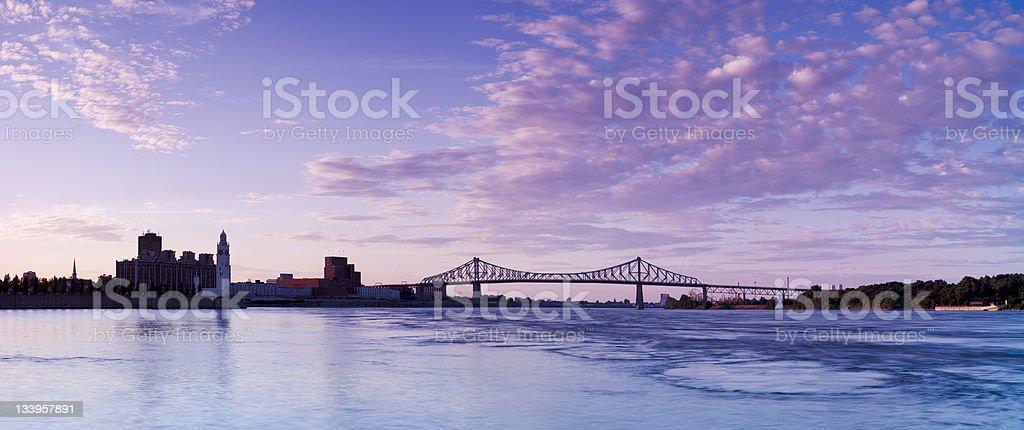 Jacques Cartier Bridge, Montreal, Quebec stock photo