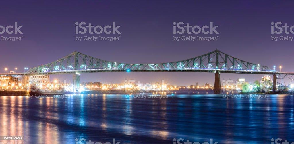 Jacques-Cartier Bridge stock photo