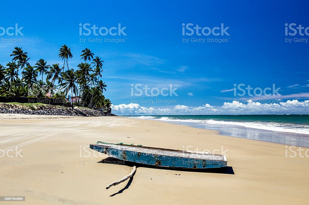 Jacuma beach - Natal stock photo