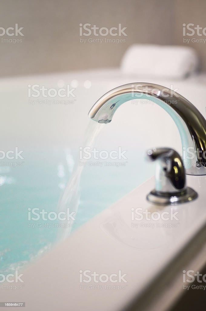 Jacuzzi Tub royalty-free stock photo