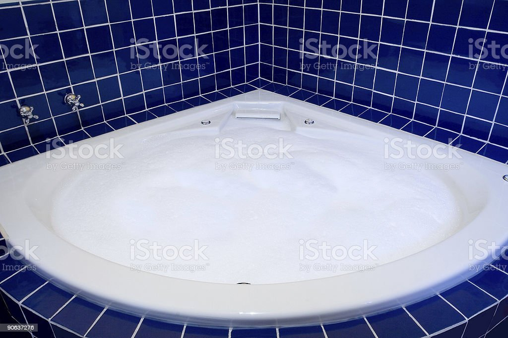 Jacuzzi With Bubbles stock photo 90637276   iStock