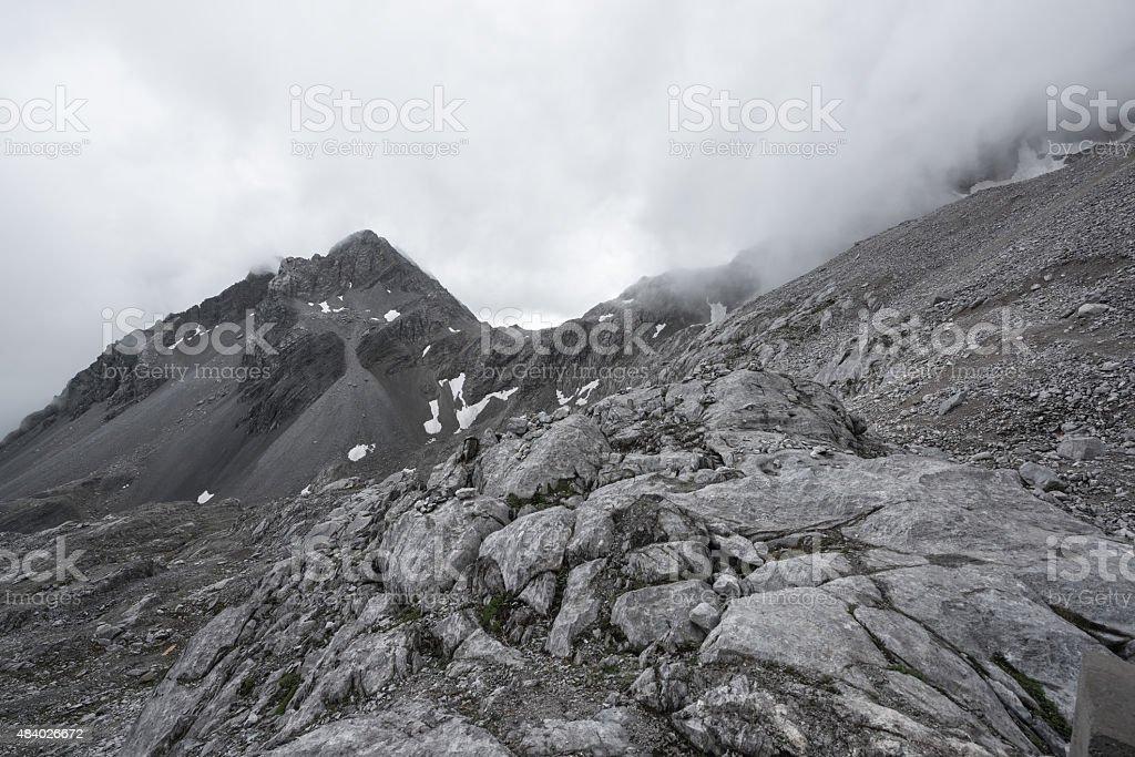 Jade-Drachen-Schneeberg Lizenzfreies stock-foto