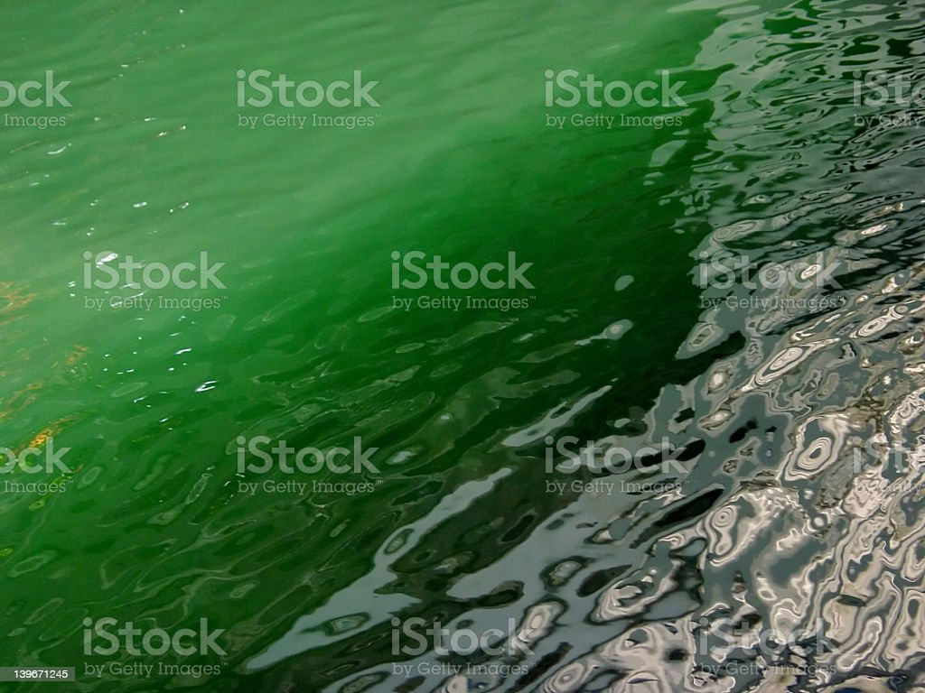 Jade Green Water Background royalty-free stock photo