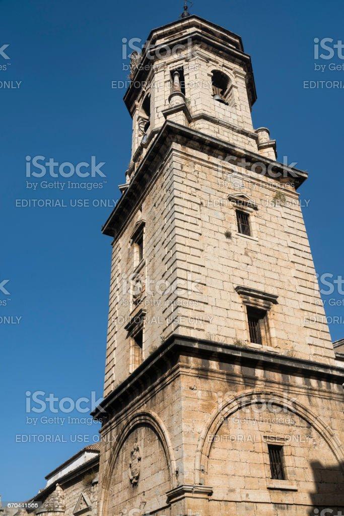 Jaen (Andalucia, Spain): San Ildefonso church stock photo