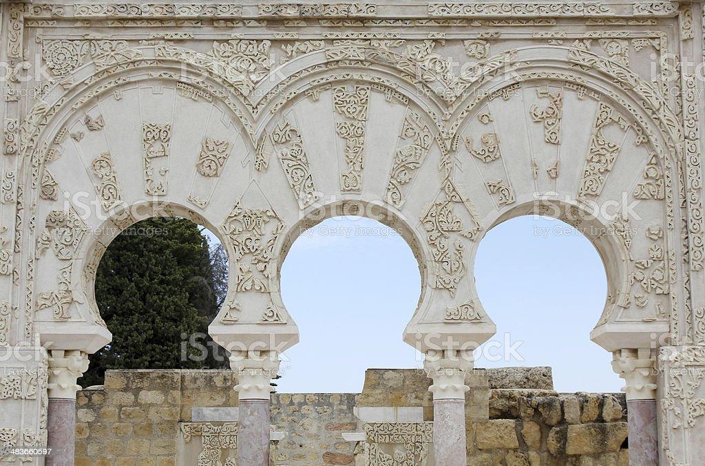 Ja'far home in Madinat al-Zahra royalty-free stock photo