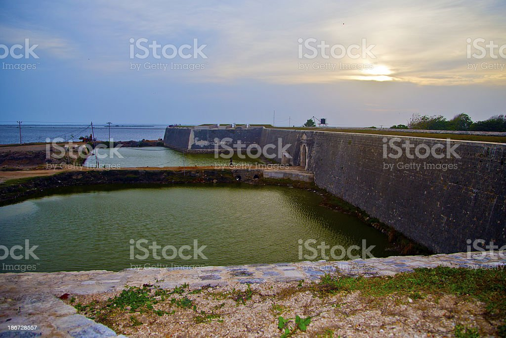 Jaffna Fort - Northern Province, Sri Lanka stock photo