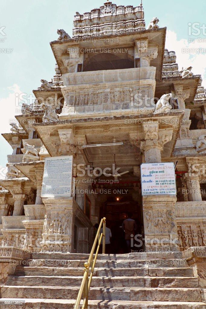 Jagdish temple, Udaipur stock photo