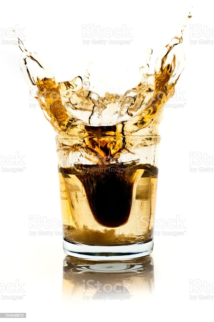 Jagerbomb stock photo