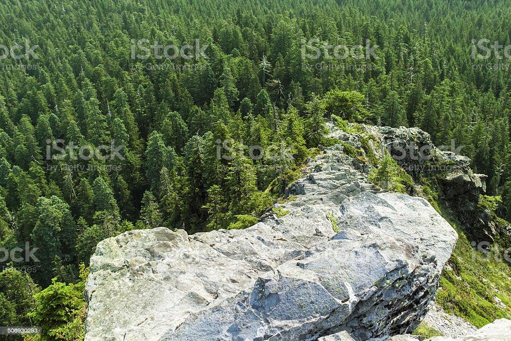 Jagged Narrow Rocky Ridge royalty-free stock photo