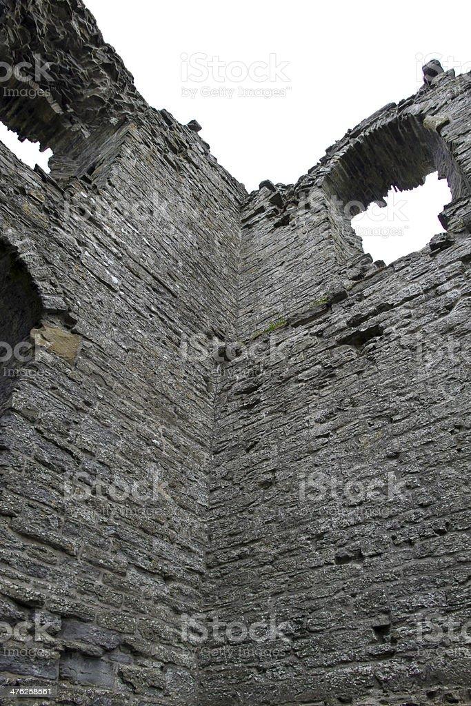 Jagged Wall royalty-free stock photo