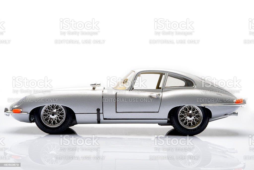 Jaguar E-Type stock photo