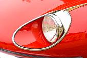 Jaguar E-Type Roadster classic British sports car