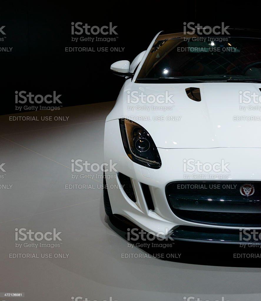 Jaguar F- type stock photo