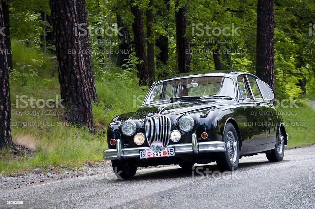 Jaguar MK LI 3,8 from 1964 royalty-free stock photo