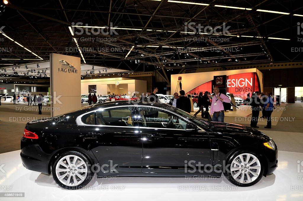 Jaguar XF stock photo