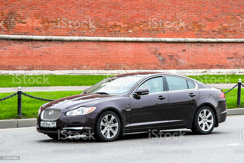 Jaguar XF stock photo