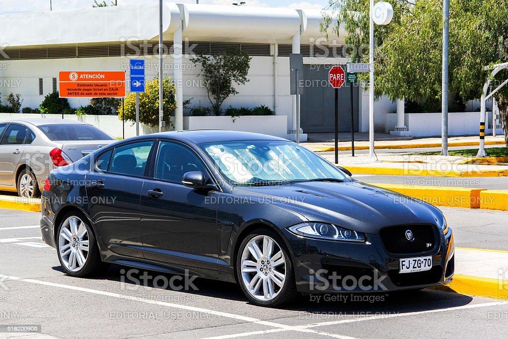Jaguar XF-R stock photo
