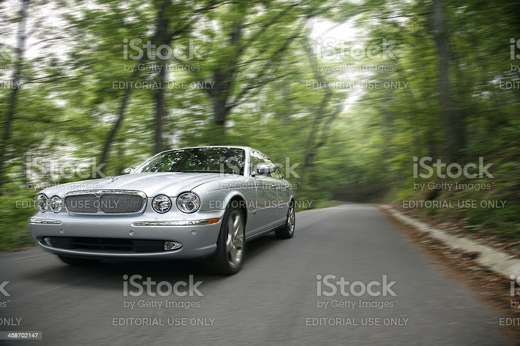 Jaguar XJ royalty-free stock photo