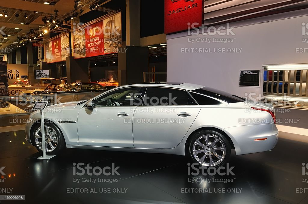 Jaguar XJ stock photo