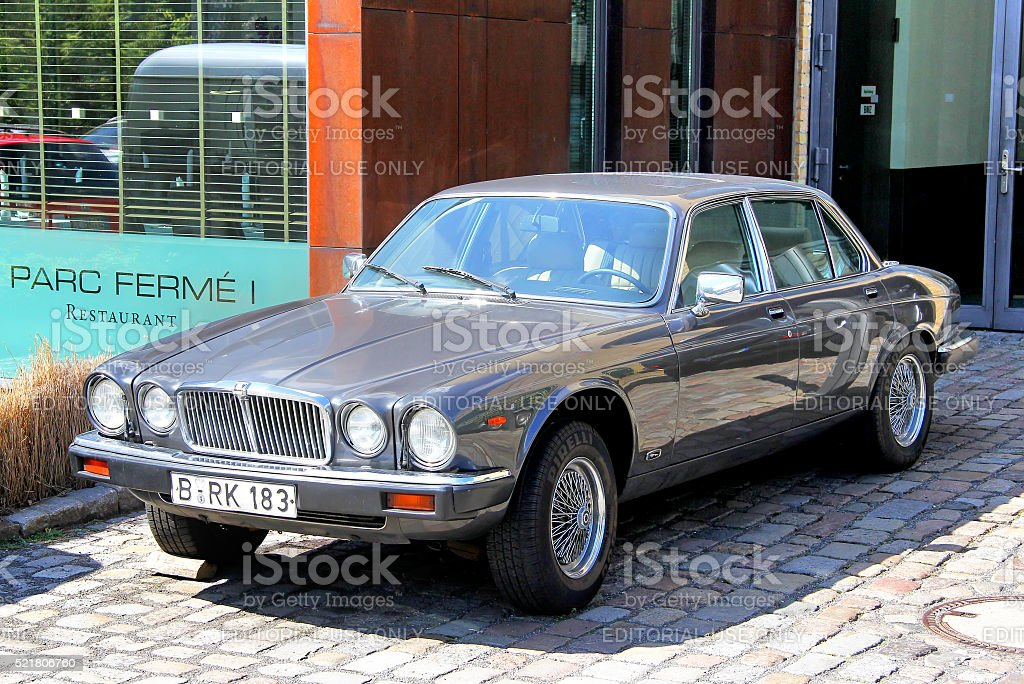 Jaguar XJ stock photo