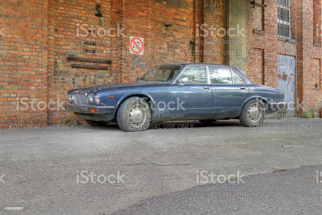 Jaguar XJ series III stock photo