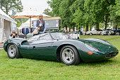 Jaguar XJ13 1960s Le Mans race car prototype