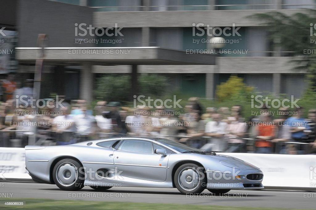 Jaguar XJ220 stock photo