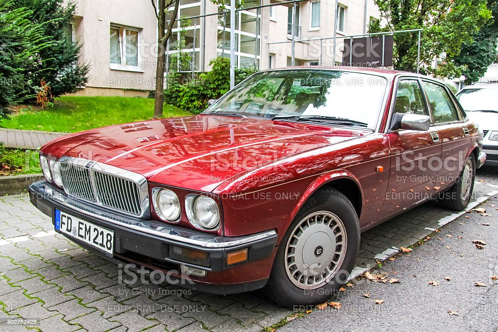Jaguar XJ6 stock photo
