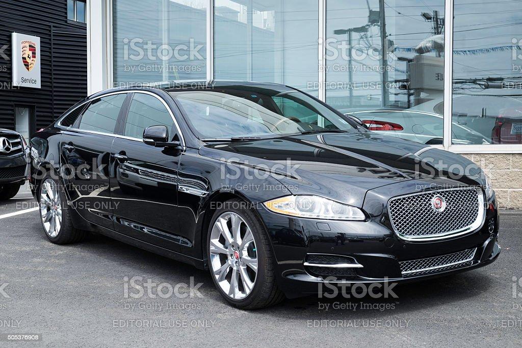 Jaguar XJL stock photo