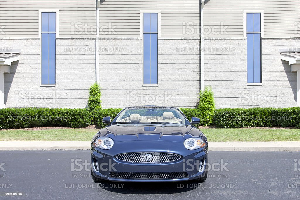 Jaguar XK royalty-free stock photo