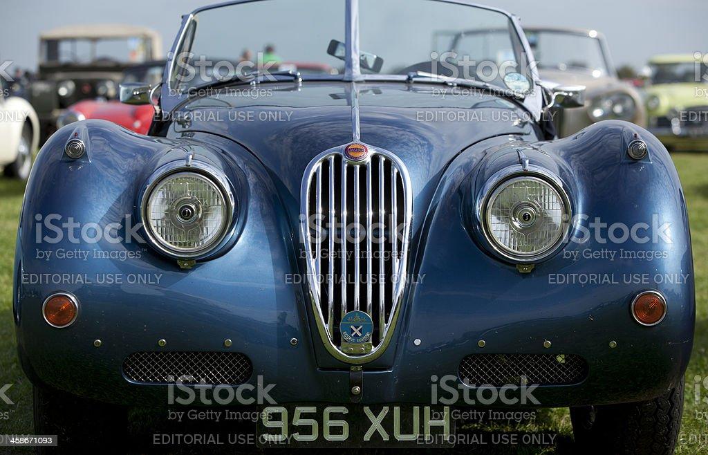 Jaguar XK140 stock photo
