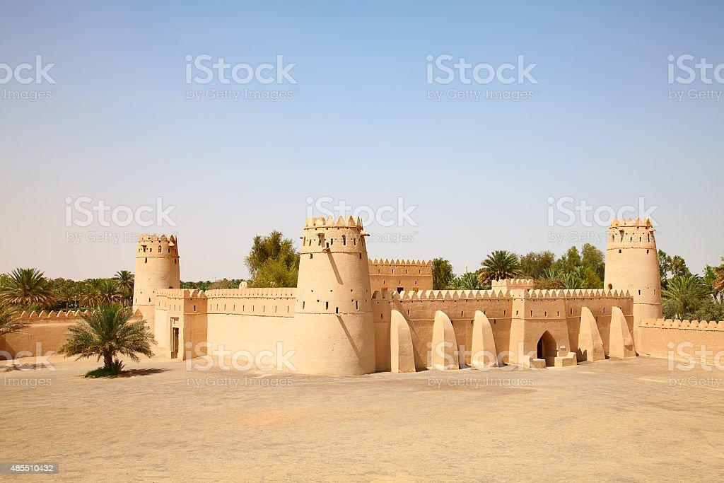 Jahili fort stock photo