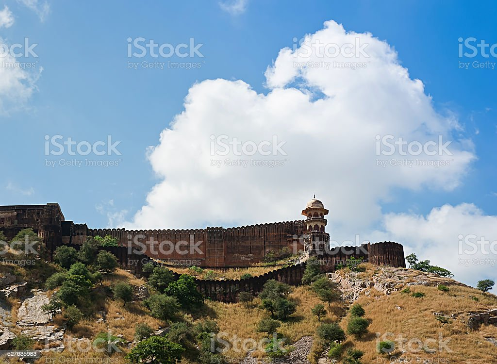 Jaigarh Fort. Jaipur, Rajasthan, India. stock photo