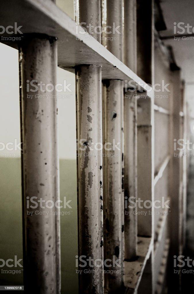 Jail Bars stock photo