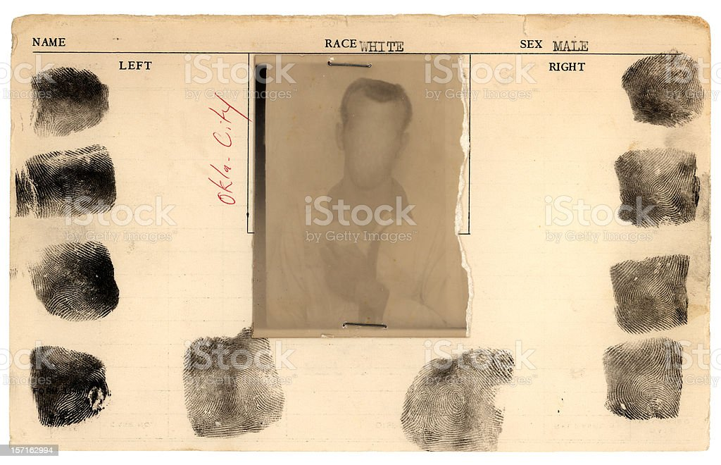 jail card stock photo