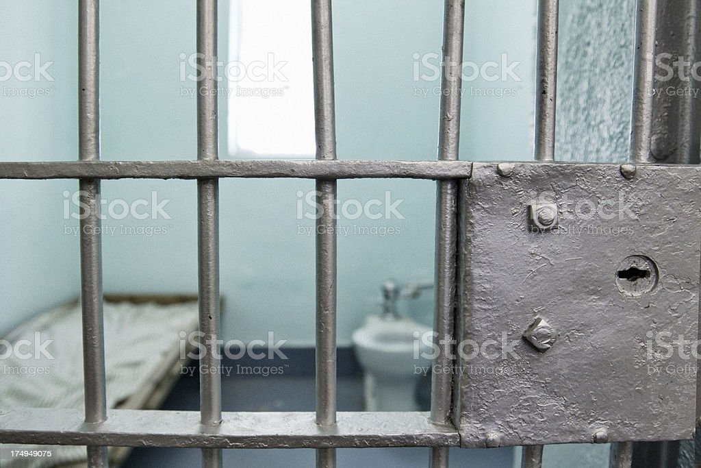 Jail Cell stock photo