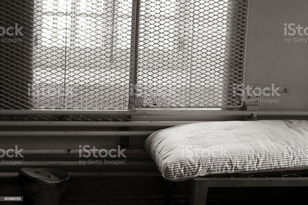 Jail Cell royalty-free stock photo