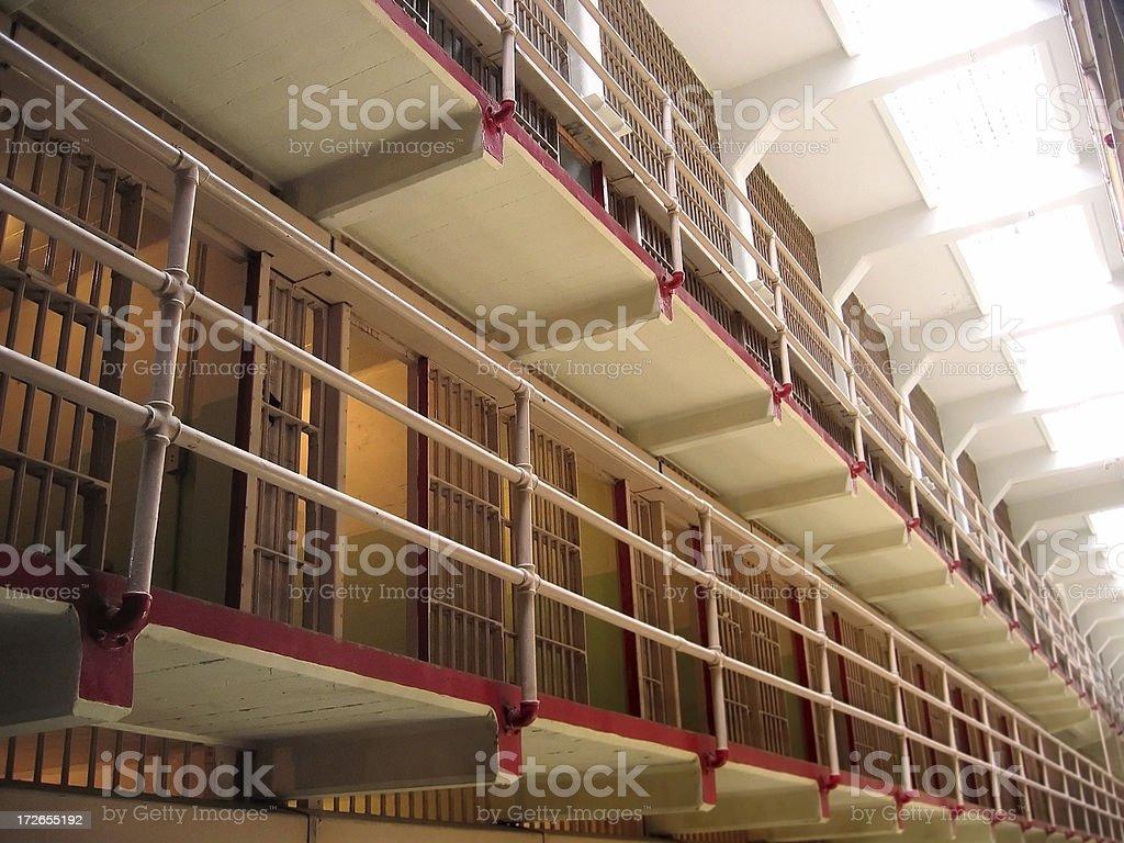 Jail Cells stock photo