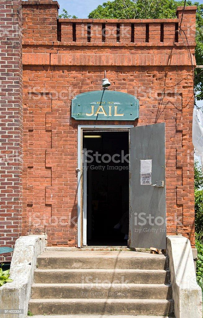 Jail Circa 1917 stock photo
