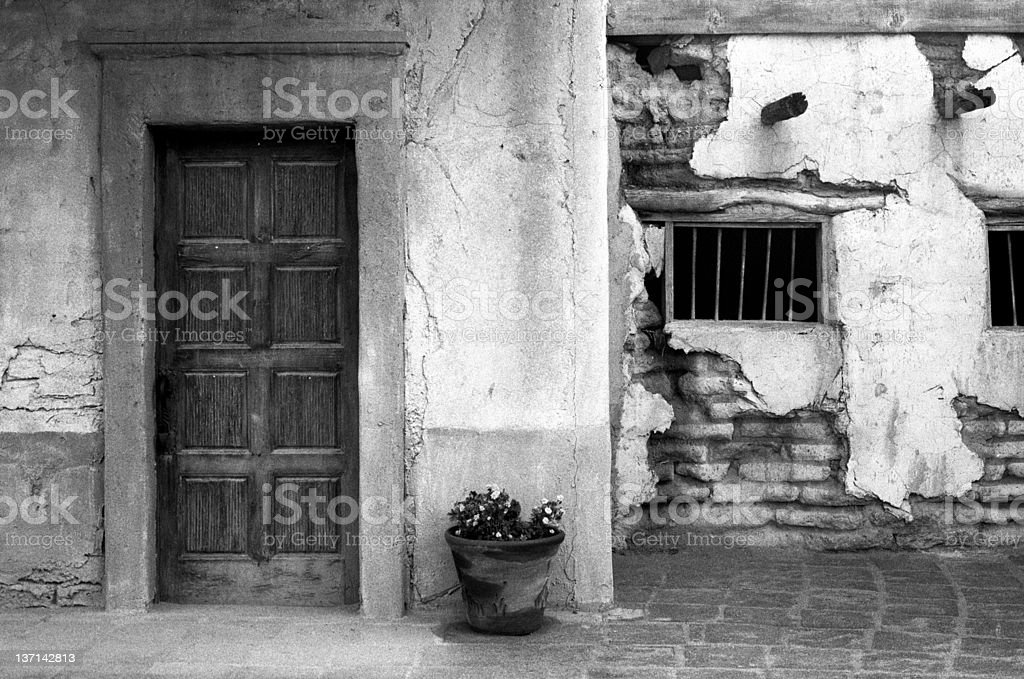 Jail House Door stock photo