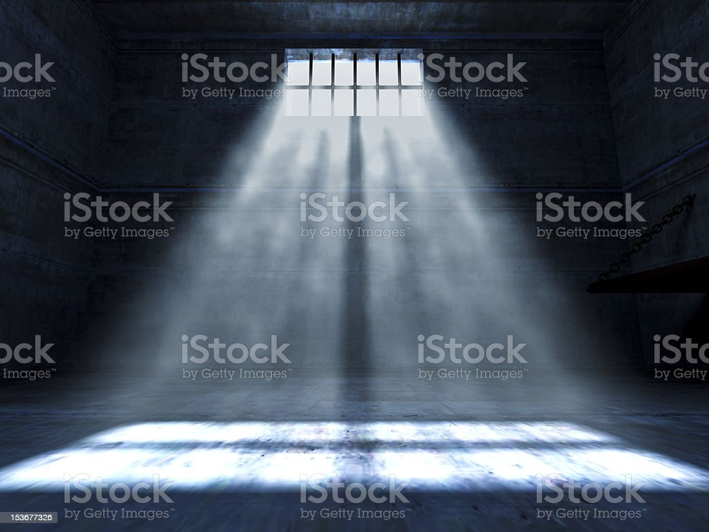 jail indoor royalty-free stock photo